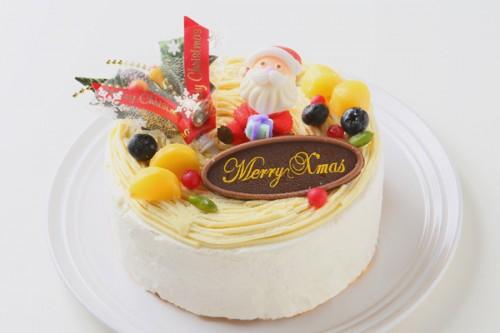 クリスマスケーキ2017 モンブラン 5号 15cm