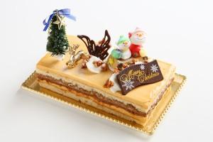 【クリスマスケーキ2016 12月22〜25日限定お届け】キャラメル・バナーヌクランチ