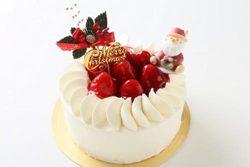 クリスマスケーキ2019 ストロベリーショートケーキ 5号 15cm