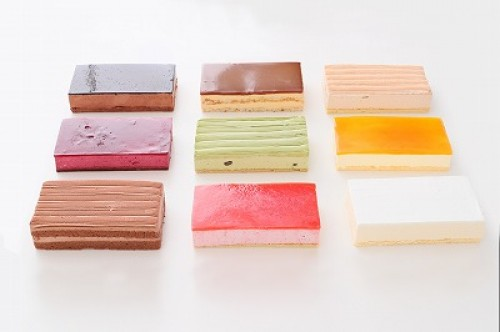 初回限定サンプル 9種類から選べるシートケーキ 計2台 (2台×1種類)  17.5cm×10cm×3cm