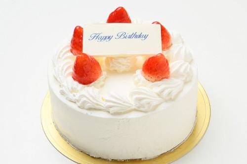 苺たっぷり!生クリームデコレーションケーキ 5号 15cm