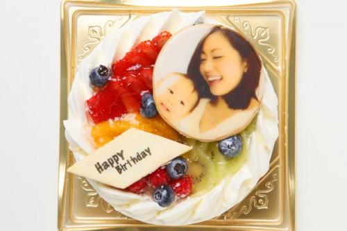 写真クッキー付き ショートケーキ 5号 15cm