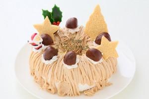 クリスマスケーキ2017 卵・乳製品・小麦粉除去可能 マロンケーキ 6号 18cm