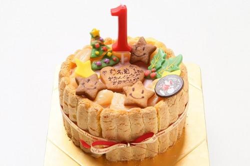 クリスマスケーキ2019 乳幼児向け ヨーグルトケーキ  4号 12cm