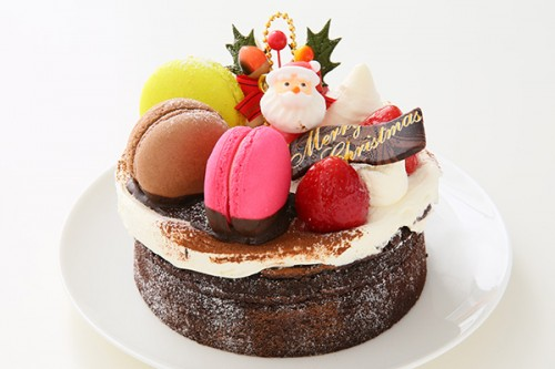 クリスマスケーキ2018 ショコラサンタ 4号 12cm