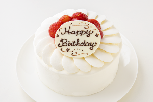 イチゴ生デコレーションケーキ 5号 15cm