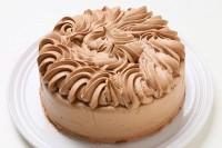 乳製品・小麦粉除去可能 チョコクリームデコレーションケーキ 4号 12cm