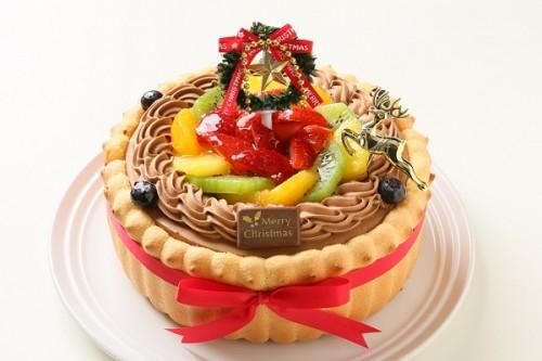 クリスマスケーキ2017 贅沢生チョコデコレーション 5号 15cm
