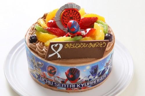 キャラデコ生チョコクリーム キュウレンジャー 5号 15cm
