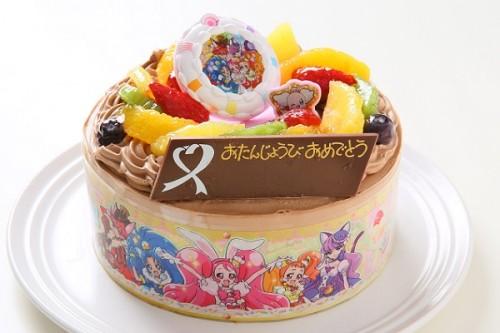 キャラデコ生チョコクリーム プリキュアアラモード 5号 15cm