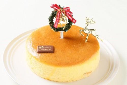クリスマスケーキ2017 スフレチーズケーキ 5号 15cm