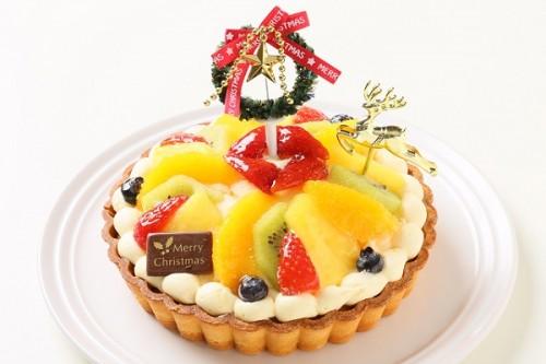 クリスマスケーキ2017 フレッシュフルーツタルト 5号 15cm