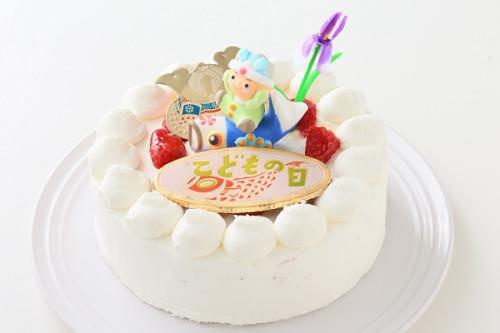 卵・乳製品・小麦粉除去 子どもの日スペシャル生ケーキ  5号 15㎝