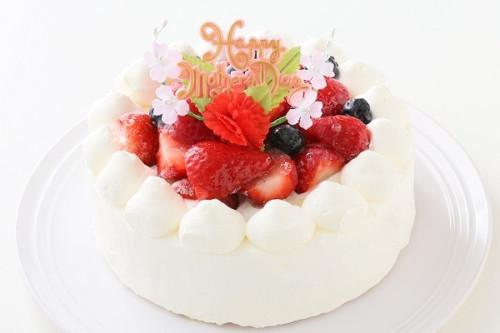 卵・乳製品・小麦粉除去 母の日スペシャル生ケーキ  5号 15cm