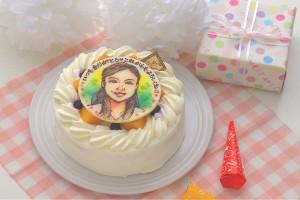 ショートケーキ 似顔絵 5号 15cm