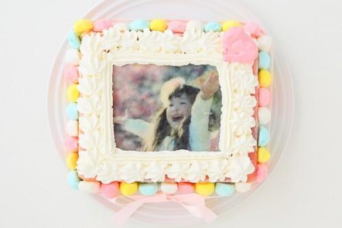 カラフルアイスケーキ 15×18cm