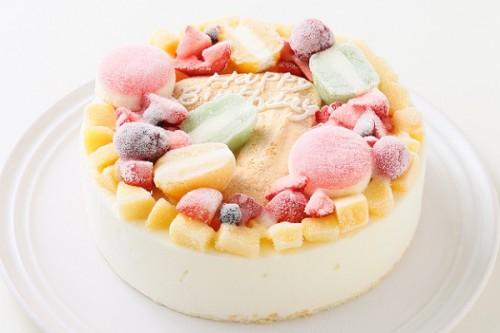 ナンバーアイスクリームのデコレーションケーキ 5号 15cm