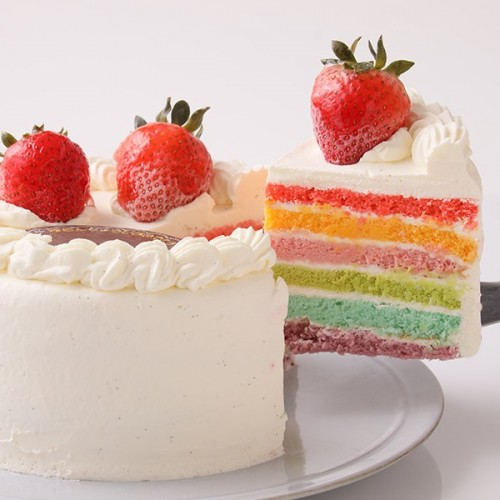 レインボーケーキ 5号 15cm