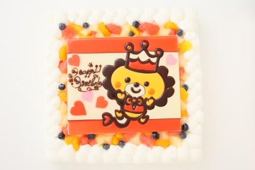 イラスト大型ケーキ 24×24cm