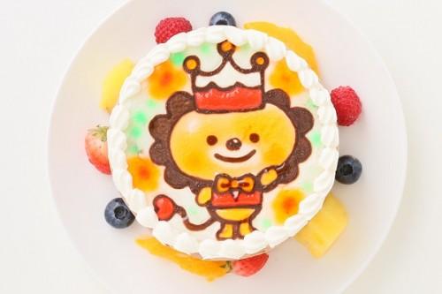 チョコ生クリームキャラクターケーキ 4号 12cm