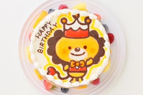 チョコ生クリームキャラクターケーキ 5号 15cm
