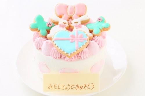 うさちゃんアイシングクッキーデコレーション 5号 15cm