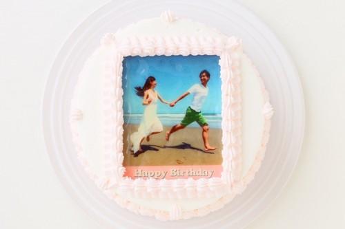 写真プリントケーキ 5号 15cm