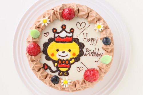 キャラクターケーキ チョコ生クリーム 4号 12cm