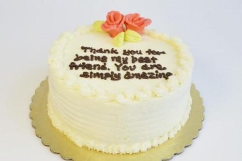 メッセージケーキ(アメリカへの配送のみ承っております。)