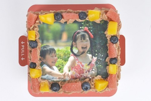 スクエア写真ケチョコーキ(アメリカへの配送のみ承っております。)