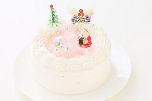 クリスマスケーキ2017 卵・乳製品・小麦粉除去可能 クリスマス限定クリームホールケーキ  5号 15cm