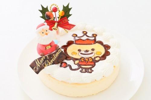 クリスマスケーキ2017 クリスマスイラストスフレ 5号 15cm