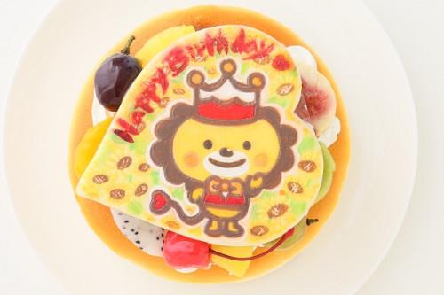 キャラクタークッキープレート付き スフレチーズケーキ 4号 12cm