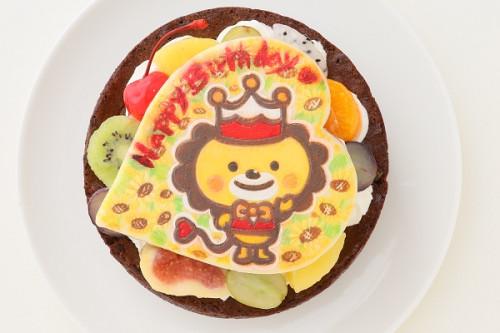キャラクタークッキープレート付き ガトーショコラ 4号 12cm