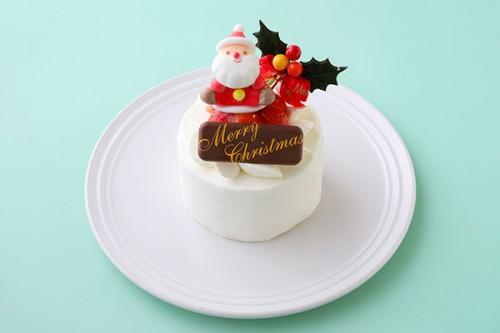 クリスマスケーキ2018 イチゴ生デコレーションケーキ 3号 9cm