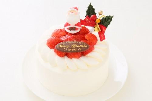 クリスマスケーキ2017 イチゴ生デコレーションケーキ 5号 15cm