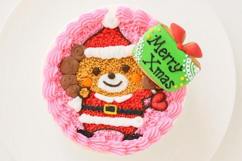 クリスマスケーキ2017 お好きなキャラで作れるキャラクターケーキ 4号 12cm