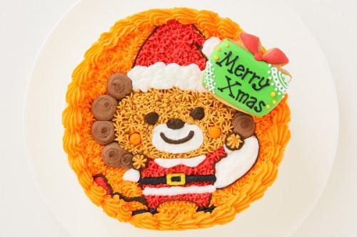 クリスマスケーキ2017 お好きなキャラで作れるキャラクターケーキ 5号 15cm