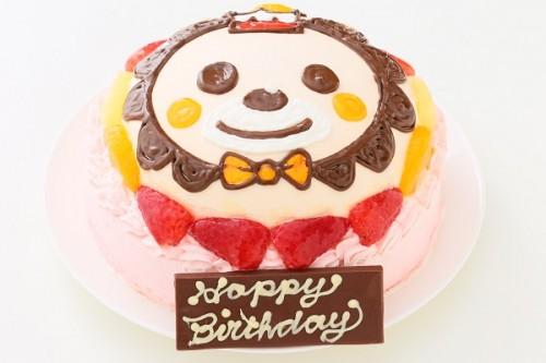 立体苺生クリームデコレーションケーキ 5号 15cm(乗り物不可)