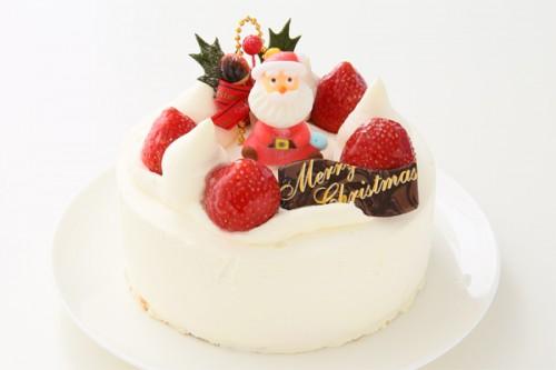 クリスマスケーキ2018 苺サンタ 4号 12cm