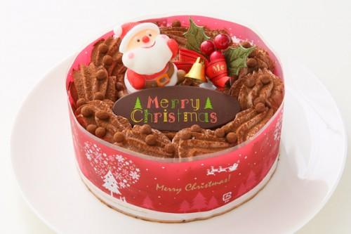 クリスマスケーキ2017 ショコラクリスマスケーキ 5号 15cm