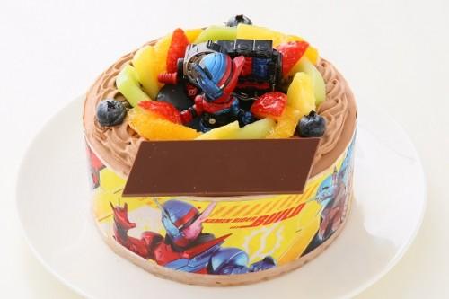 キャラデコ生チョコクリーム 仮面ライダービルド 5号 15cm