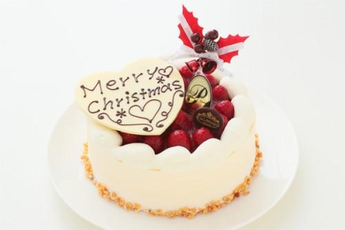 クリスマスケーキ2018 最高級洋菓子 シュス木苺レアチーズケーキ 15cm