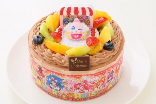 クリスマスケーキ2017 プリキュアアラモード 生チョコクリーム 5号 15cm