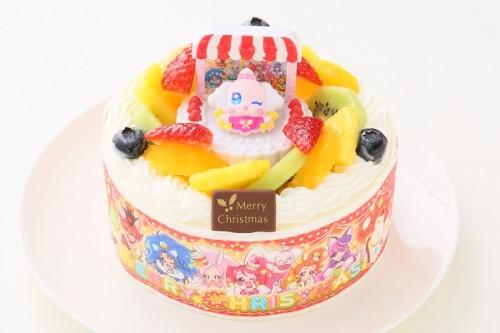 クリスマスケーキ2017 卵除去 プリキュアアラモード 生クリーム 5号 15cm