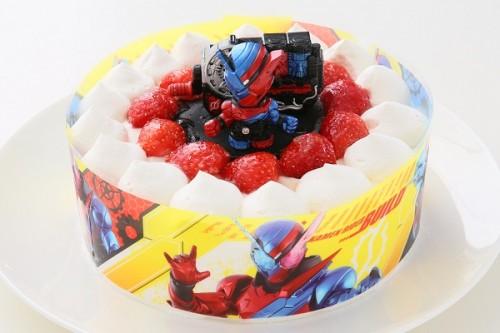 生デコレーションケーキ 仮面ライダービルド 5号 15cm
