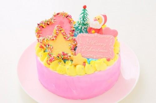 クリスマスケーキ2017 スターデコレーション 5号 15cm