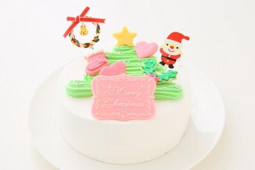 クリスマスケーキ2017 ツリーデコレーション 5号 15cm