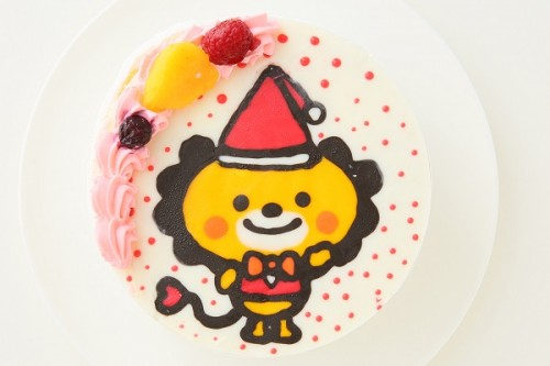 クリスマスケーキ2018 イラストケーキ 生 4号 12cm