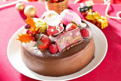クリスマスケーキ2018 生チョコのクリスマスケーキ 4号 12cm